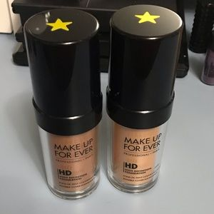 Two Makeup Forever foundations